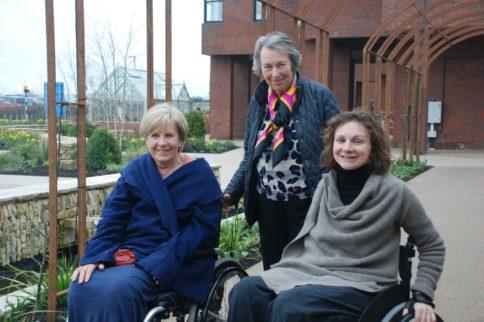 Eva Loeffler visits Horatio's Garden