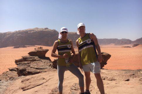 Luke and Harry complete the Wadi Rum Ultra Marathon!