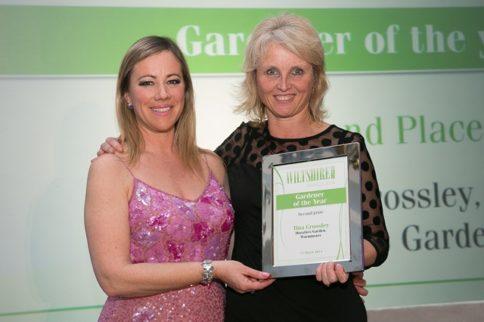 Head Gardener Tina wins award for Horatio's Garden
