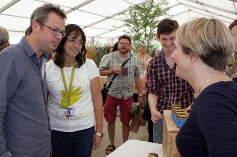 Salisbury Journal: Chef Hugh helps raise money for Horatio's Garden