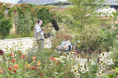 BBC Gardeners' World films in Horatio's Garden