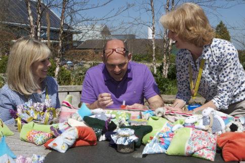 Great British Sewing Bee finalist helping Horatio's Garden