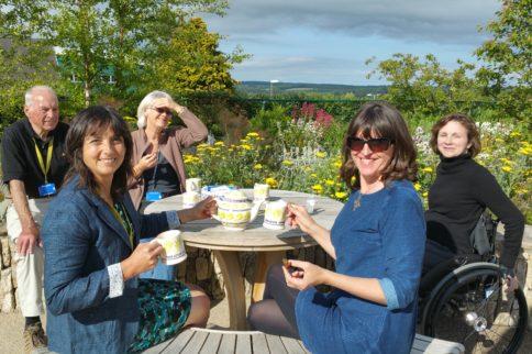 Emma Bridgewater visits Horatio's Garden