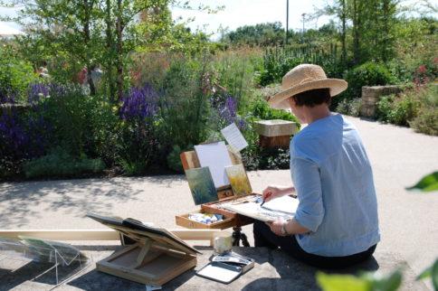 Artist Sarah Hough is artist in Residence