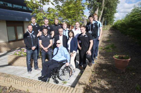 Glasgow Warriors support Horatio's Garden Scotland
