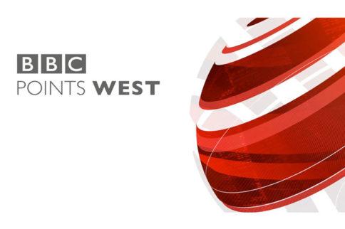 BBC Points West at Horatios Garden