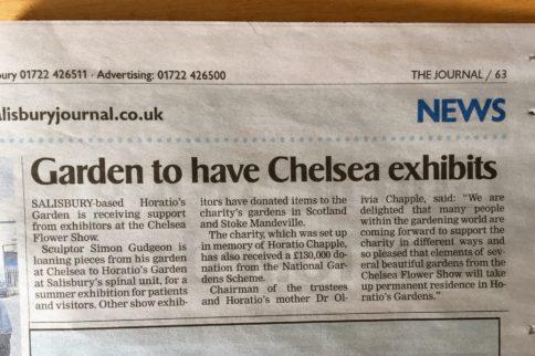 Garden to have Chelsea exhibits
