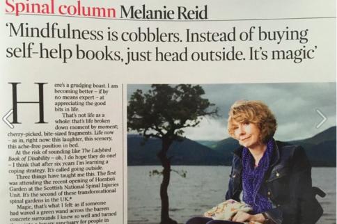 Melanie Reid in the Times