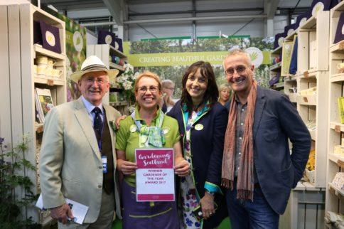 Sallie Sillars wins Scotland's Gardener of the Year