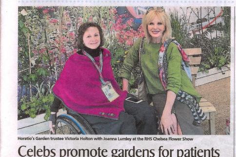 Nelsons sponsor Chelsea flower Show