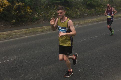 Bede Rauh's Edinburgh Marathon
