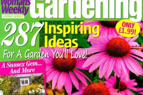 Horatio's Garden features in Woman's Weekly Gardening magazine