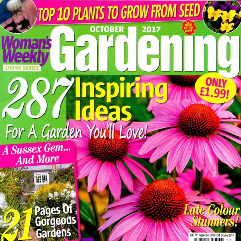 Horatio S Garden Features In Woman S Weekly Gardening Magazine