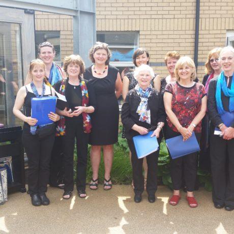 Merrylea Choir perform at Horatio's Garden