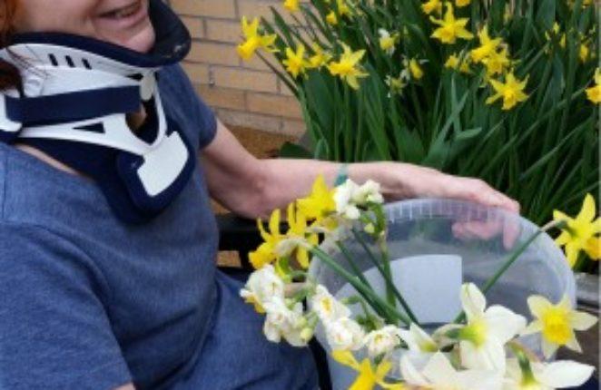 Spring garden therapy