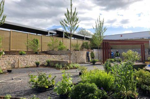 Gardeners' World filming at Stoke Mandeville