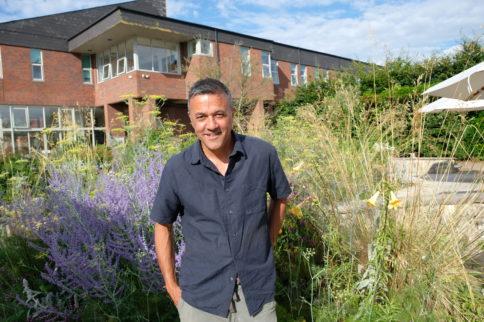 Cleve West visits Salisbury