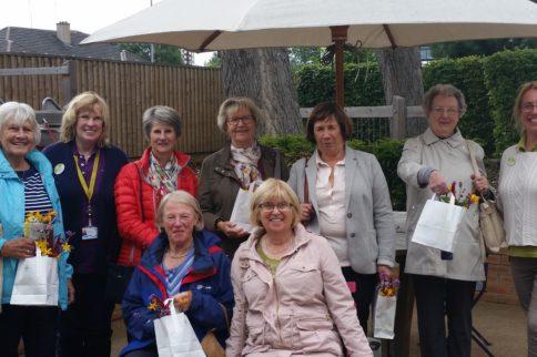 cathcart castle ladies golfers visit horatio's garden scotland