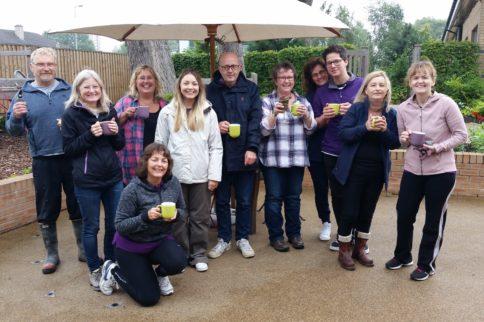 cornerstone volunteers at horatio's garden scotland