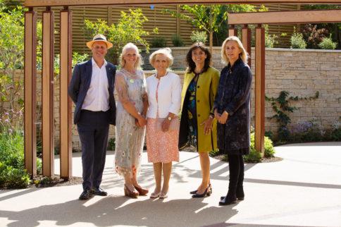 Horatio's Garden Stoke Mandeville Official Opening