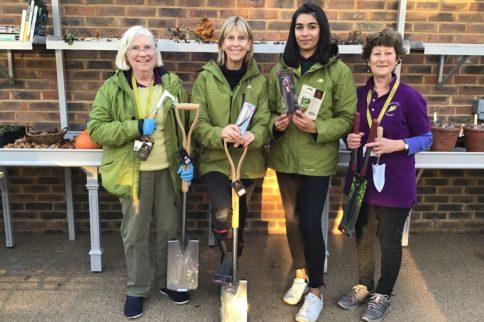 garden tool donation