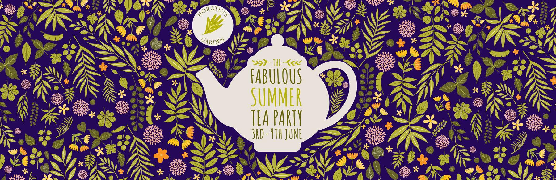The Fabulous Summer Tea Party