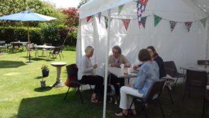 Guests Enjoying Tea