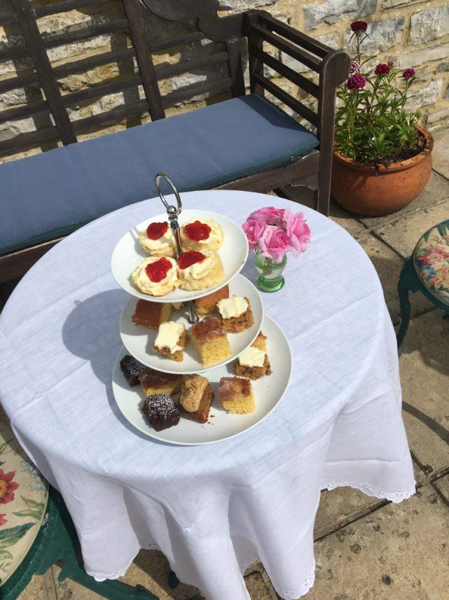 Cake and Scones