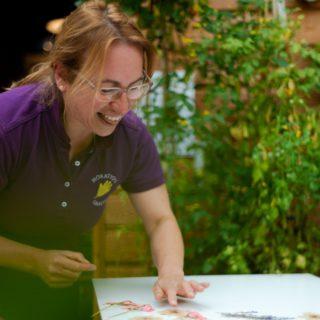 Head Gardener Sallie Sillars