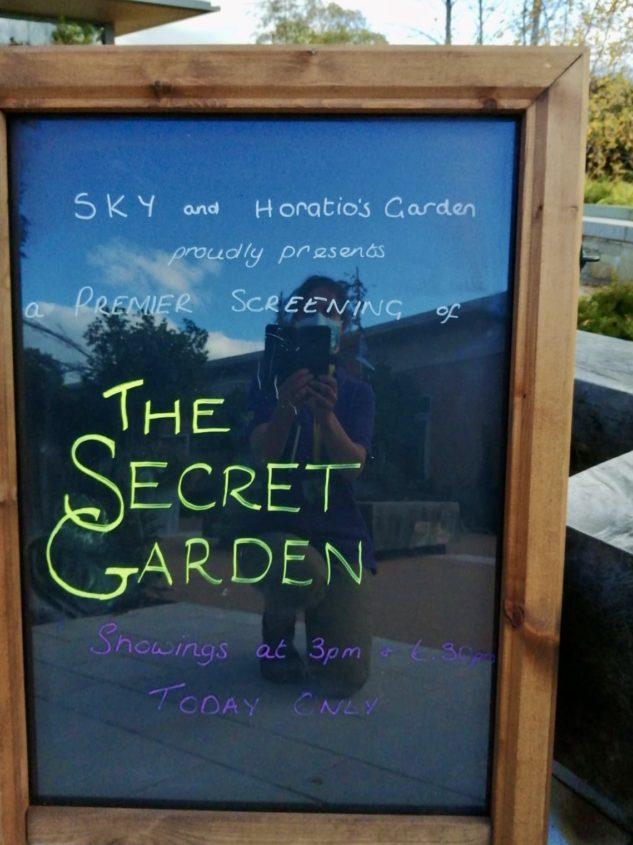 The Secret Garden Sign