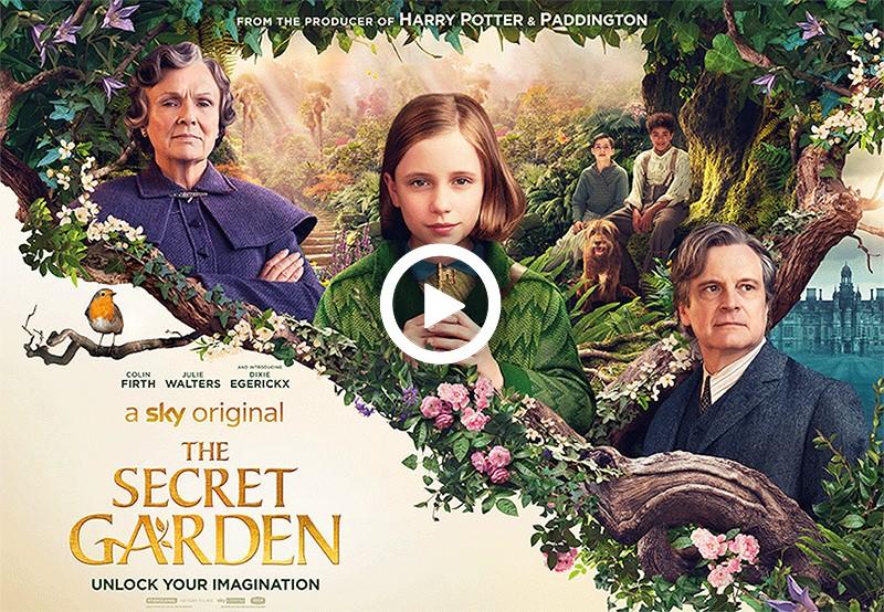 Competition To Celebrate The Release Of New Sky Original Film The Secret Garden Horatio S Garden