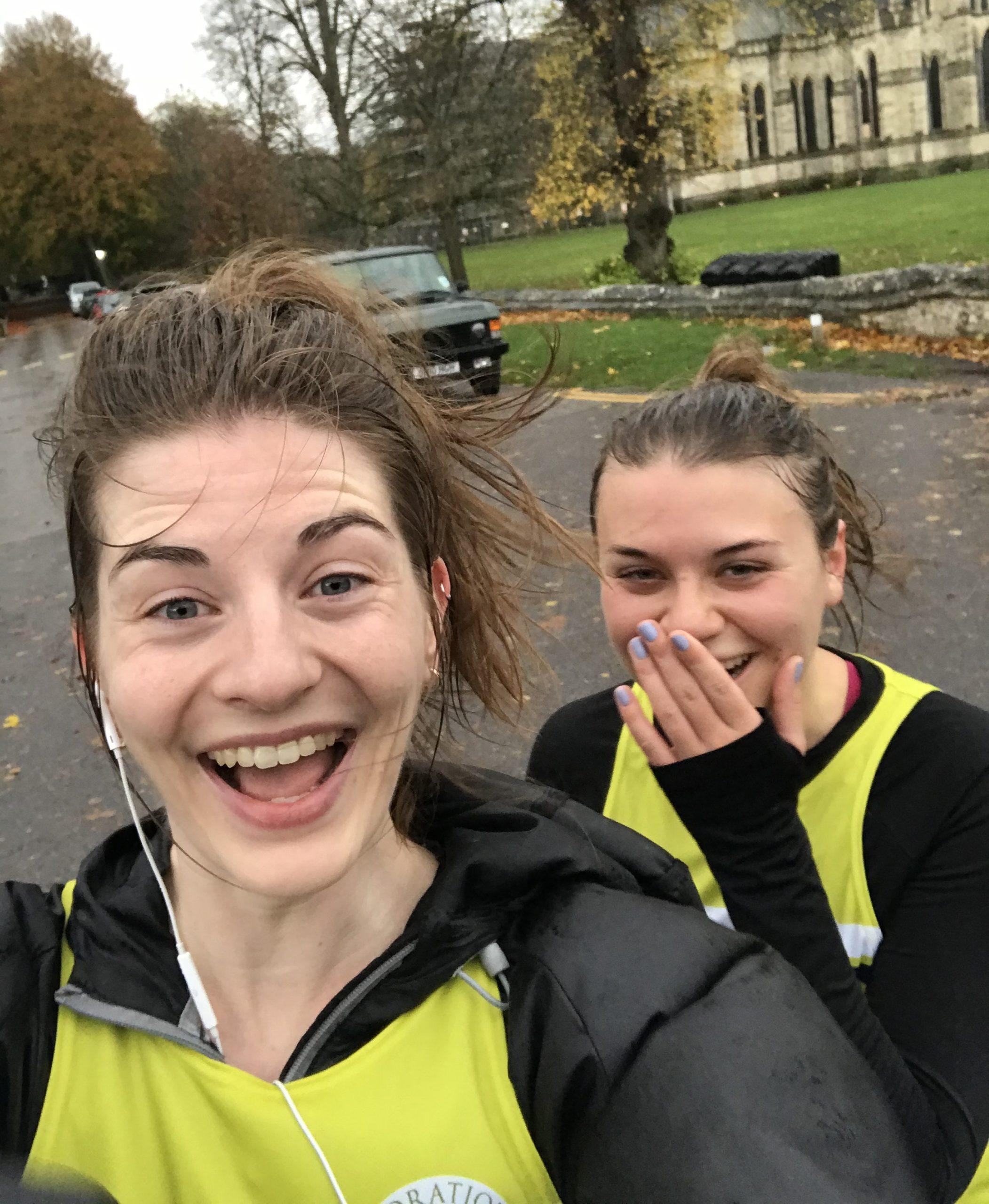 Alex & Laura Running