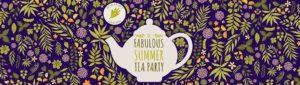 Fabulous Summer Tea Party Logo