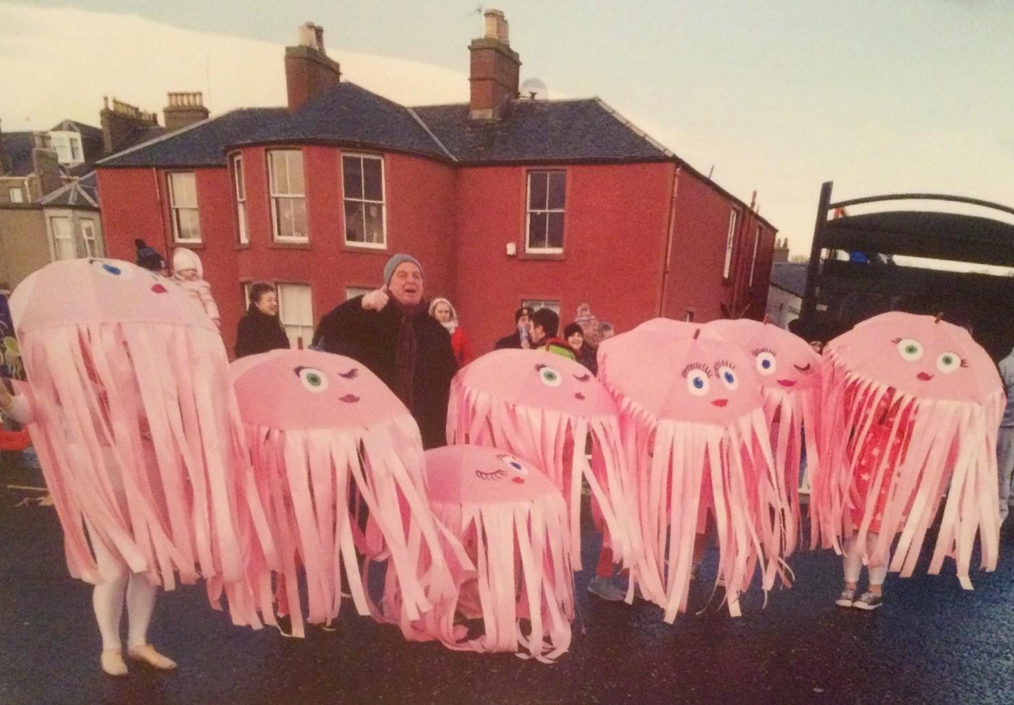 Vivien Scott in Jellyfish Costume