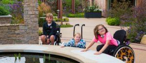 Children in Stoke Mandeville