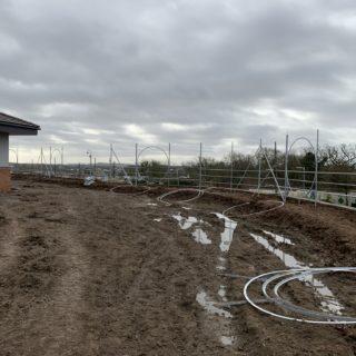 Horatio's Garden Wales building site
