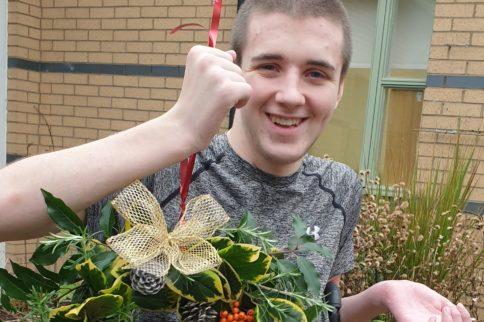 Craig in garden