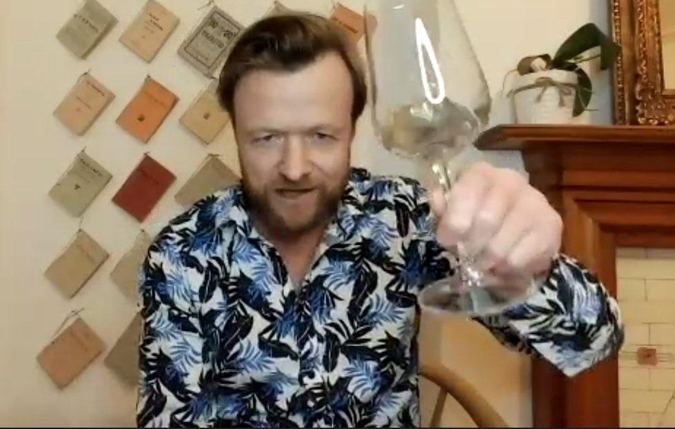 Grant Hedley hosting Wine Tasting