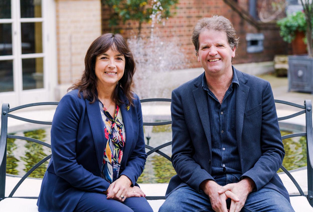 Dr Olivia Chapple & Tom Stuart-Smith